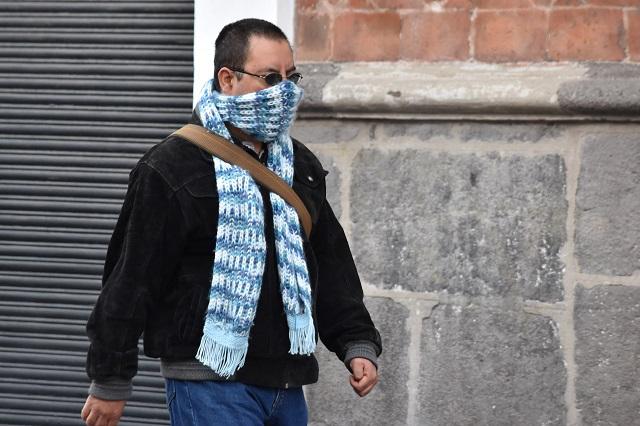 Se mantendrá clima muy frío otras 48 horas en Puebla