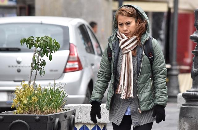Lluvias moderadas y frío se mantendrán en Puebla