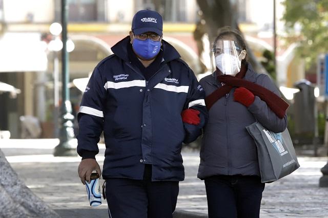 Bajas temperaturas y lluvias en Puebla por Frente Frío 7