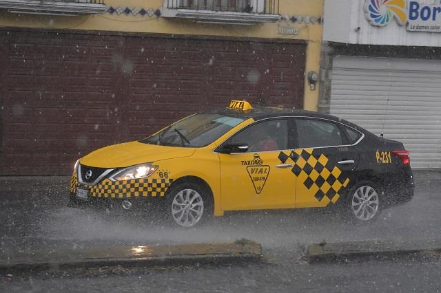 Preven granizadas y aguaceros para Puebla, el fin de semana