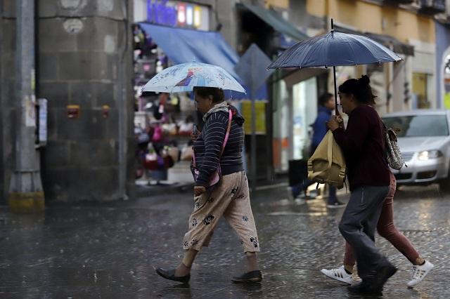 Se esperan lluvias en las sierras norte y nororiental de Puebla