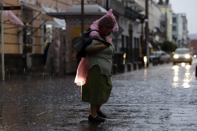 Se pronostican lluvias muy fuertes para Puebla