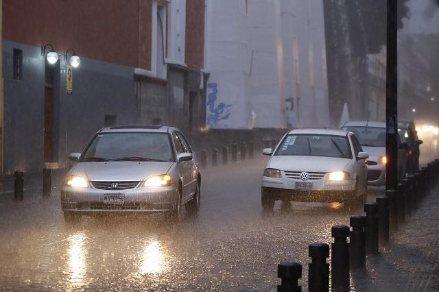 Canal de baja presión dejará lluvias fuertes en Puebla y Tlaxcala