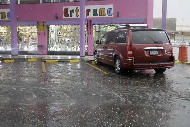 Lluvias y posibles granizadas en Puebla pronostica la Conagua