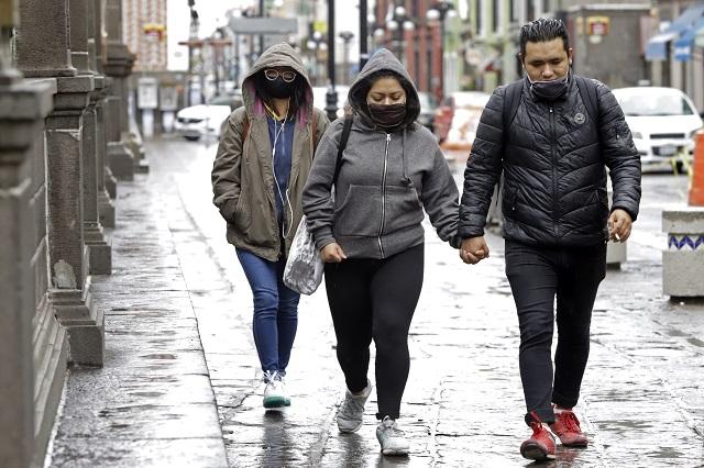 Frente frío 4 sigue pegando en la mayor parte del país