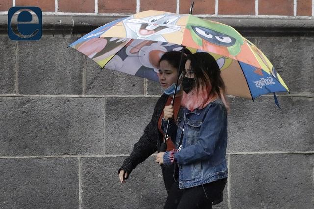 Chubascos sobre Puebla por la tarde, pronostica Conagua