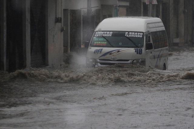 Lluvias muy fuertes se esperan en regiones de Puebla y Tlaxcala