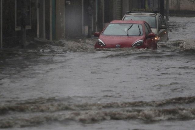 Pronostican lluvias muy fuertes este jueves para Puebla