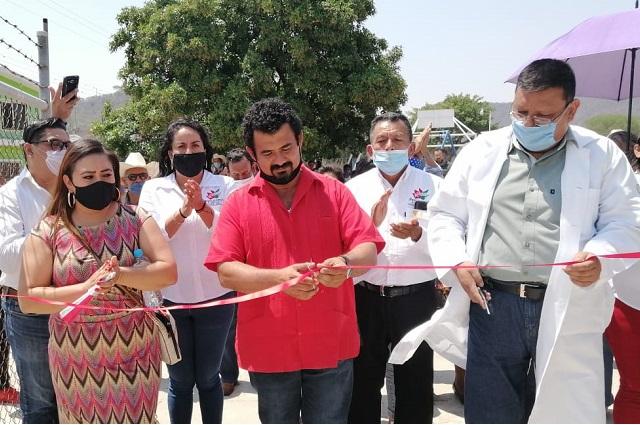 Rehabilitan clínica del IMSS en Santa Cruz de Bravo Petlalcingo