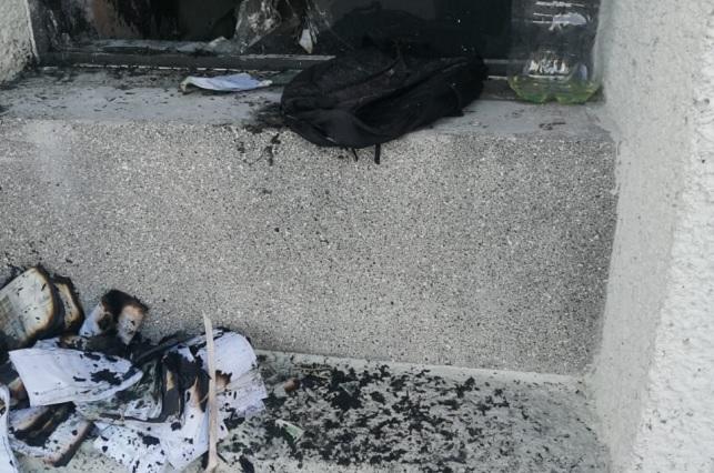 Provocan incendio en IMSS de San Bartolo y sacan a pacientes