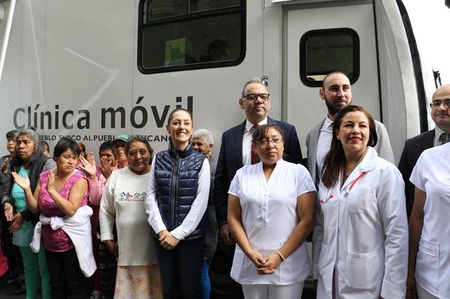 Clínica médica móvil que donó Turquía atenderá a indigentes en la CDMX