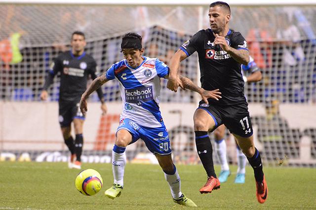 Club Puebla cae ante Cruz Azul en la Copa MX