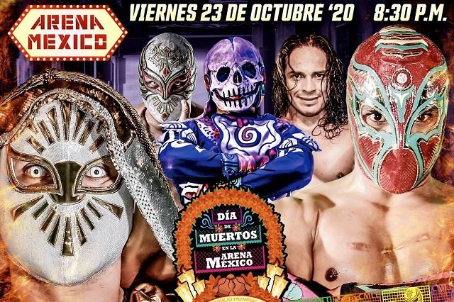 CMLL: Función especial por Día de Muertos podrá verse en vivo