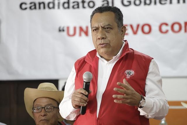 Maritza Marín no es la CNC, dice el dirigente Elías Pérez