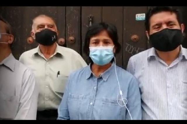 Echan a CNC y CNOP de sus sedes; priístas protestan