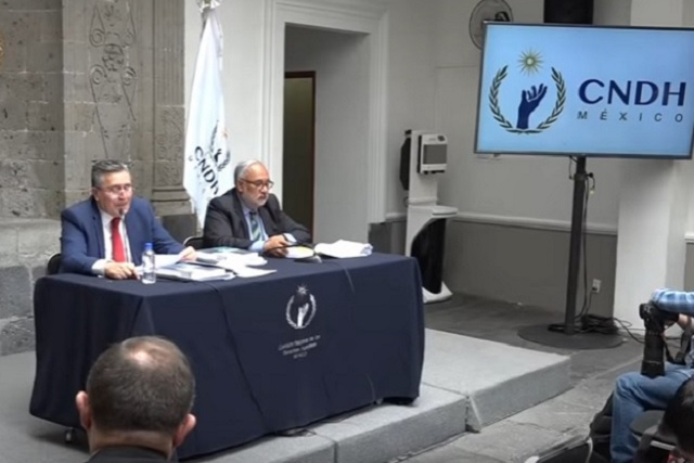 Defienden académicos a la CNDH de críticas de AMLO