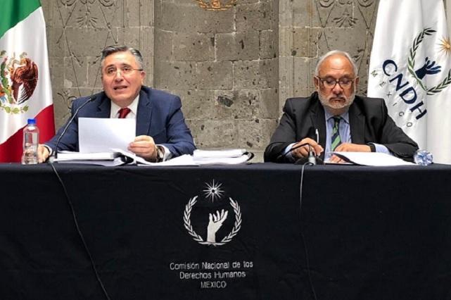 Luis Raúl González anuncia que no intentará reelegirse en la CNDH
