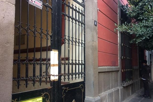 Por violar ley de monumentos, detenido albergue para ancianos del DIF Estatal