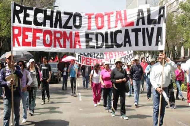 Osorio asegura que la CNTE no tiene otra opción más que dar clases