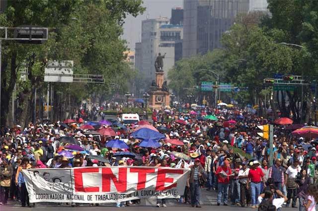 Sostendrán CNTE y SEP duelo político por paro nacional