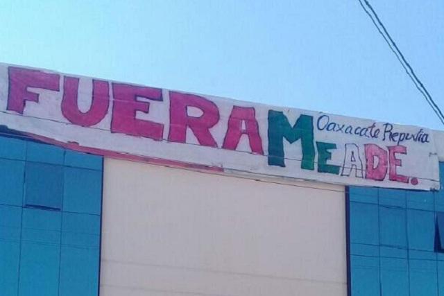 CNTE advierte que se manifestará cada que Meade vaya a Oaxaca