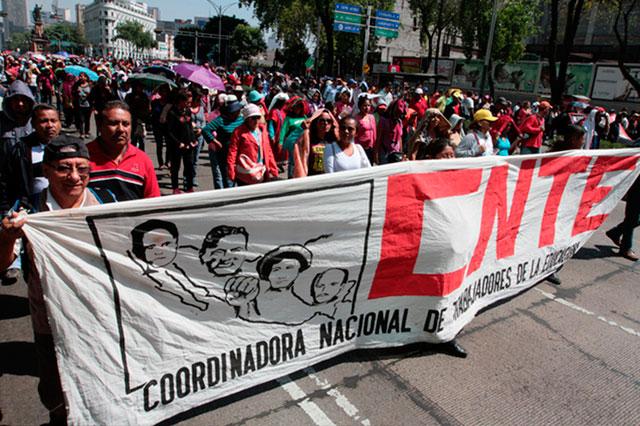 Aurelio Nuño le advierte a la CNTE que ya se acabó la impunidad