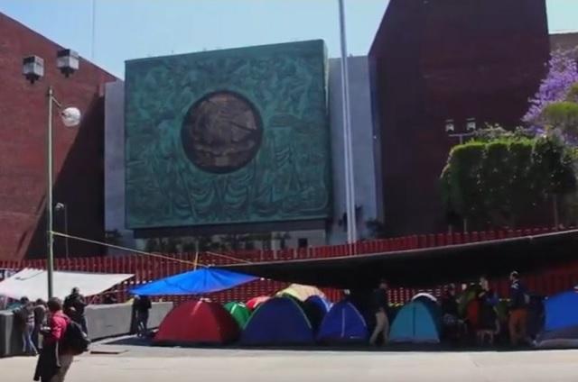 CNTE advierte que se movilizará el miércoles en la Cámara de Diputados