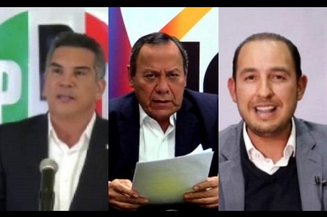 PAN, PRI y PRD afianzan candidatos comunes a la Cámara de Diputados