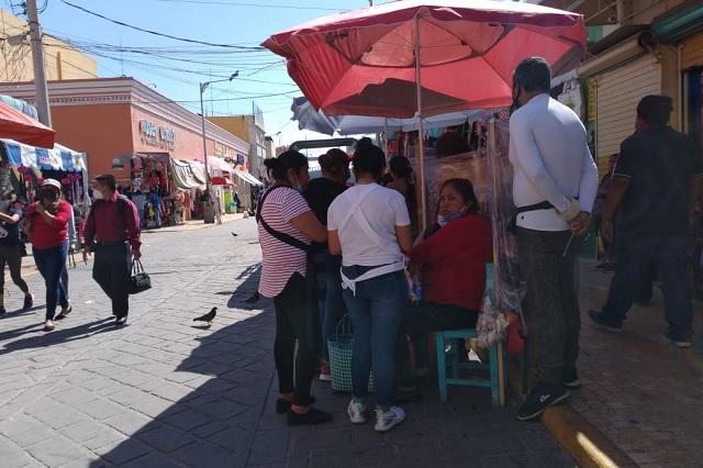 Vendedoras ambulantes de Coapan buscan amparo ante decreto