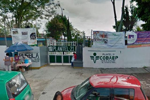 Trabajadores del Cobaep denuncian hostigamiento en plantel 21