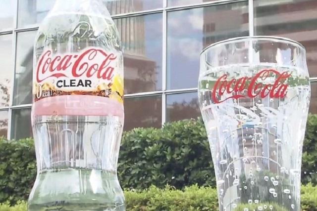¿Leche y Coca-Cola transparente? Los japoneses lo hicieron posible
