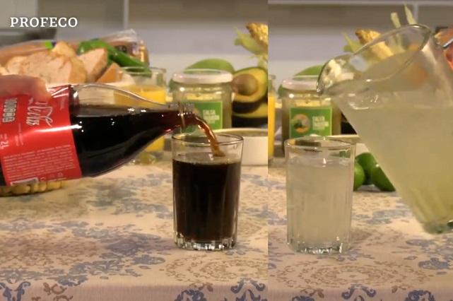 Profeco usa Coca Cola para mensaje contra refrescos y cuestionan si es legal