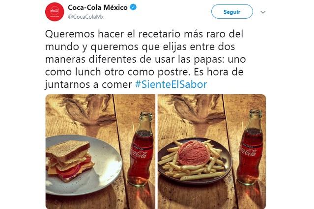 Atacan a Coca Cola por tuit y la culpan de diabetes y obesidad