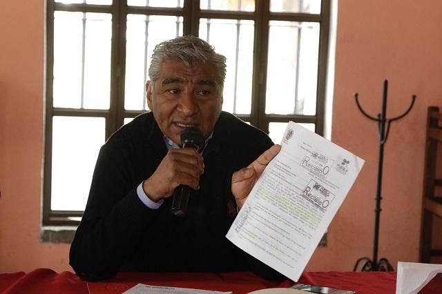 Piden a gobierno de Gali pague obra en La Margarita antes de irse