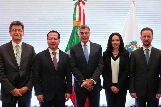 Inauguran Gali y titular de Cofepris reunión nacional del sistema sanitario