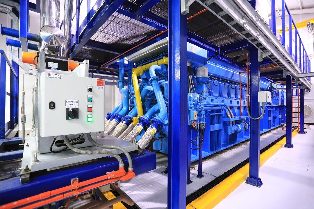 Inaugura Granjas Carroll central de cogeneración de energía eléctrica