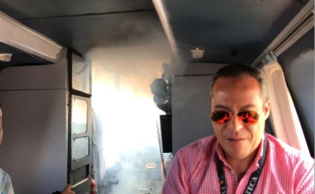 EPN condena ataque con cohetones a helicóptero de comitiva presidencial