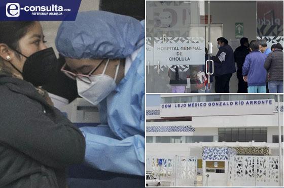 Cuelan a administrativos para vacunas contra Covid en Cholula y Atlixco
