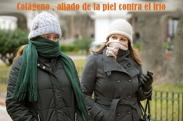 Licuado con colágeno, defensa ideal ante el frío