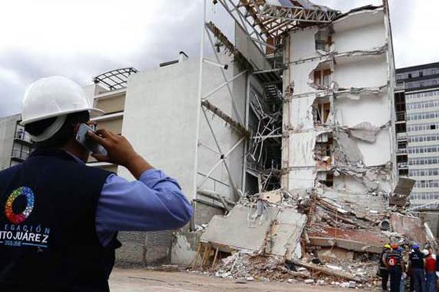 Liberan a ingeniero vinculado con el colapso del edificio de Zapata 56