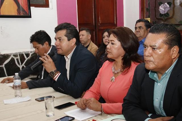 Grupo de apoyo a Barbosa reprocha a Armenta Mier su ADN priísta