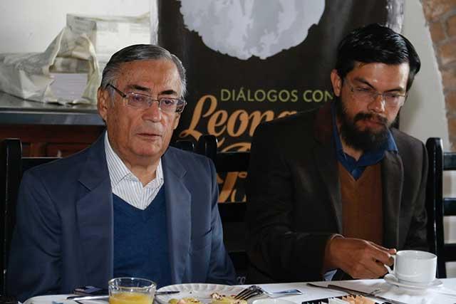 Alista el Colegio de Puebla la presentación de Leonardo Boff