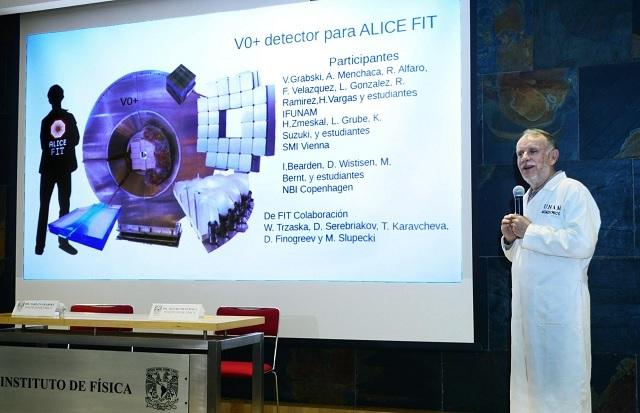 Desarrollan detector de partículas para el Gran Colisionador de Hadrones