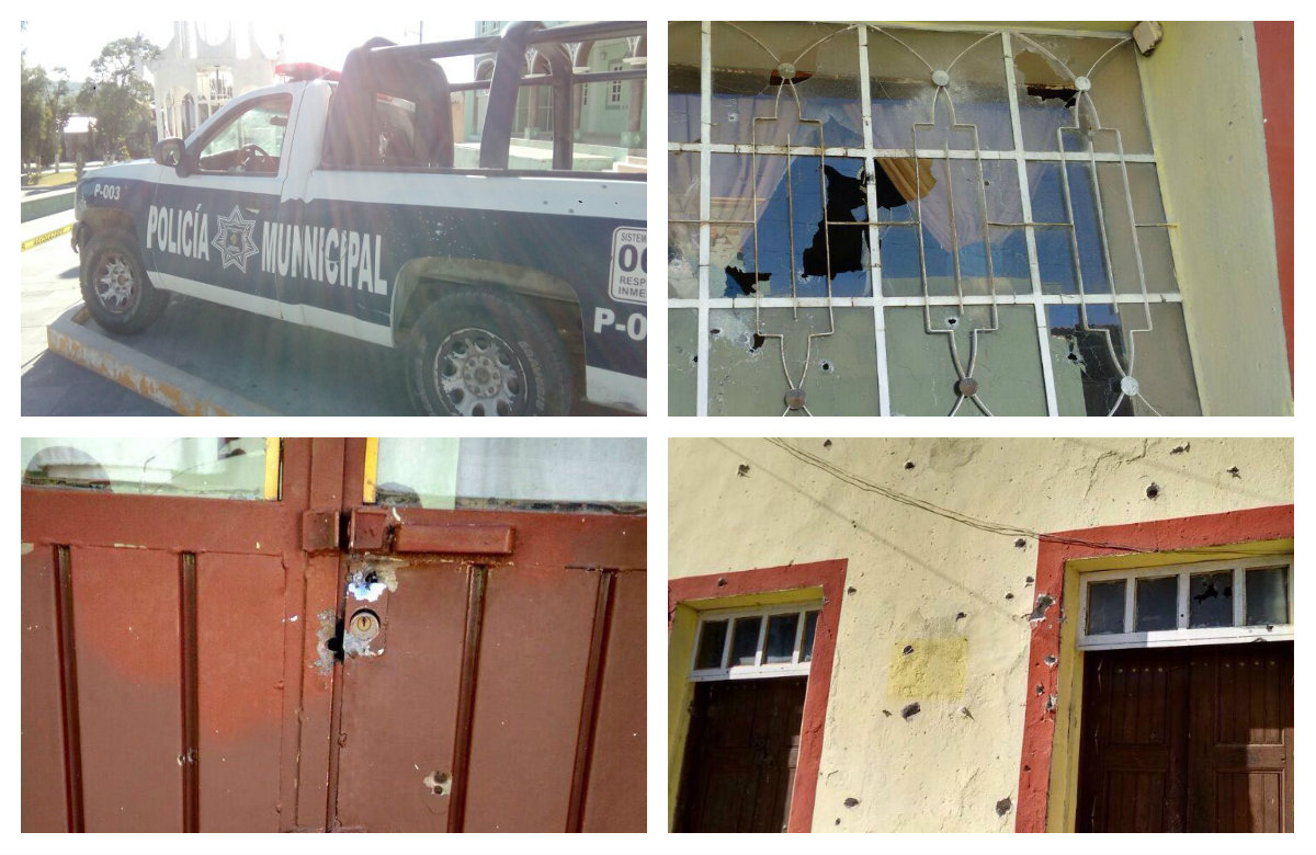 Comando desata balacera en pleno centro de Cañada Morelos