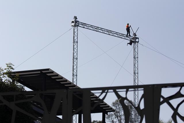 El lunes, segundo cierre vial por montaje de cables del Teleférico