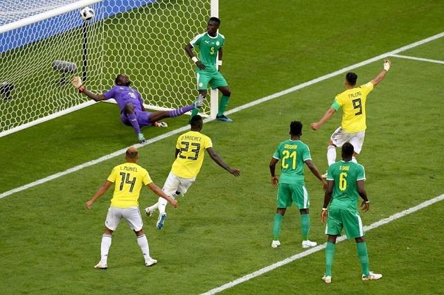 Colombia derrota 1-0 a Senegal y lo elimina del mundial