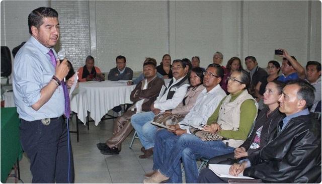 Titular de seguridad municipal se reúne con presidentes de colonias