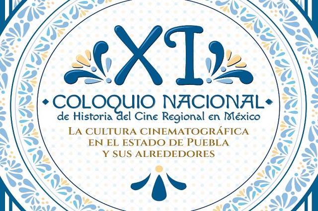 Presentan coloquio virtual de cultura cinematográfica en Puebla