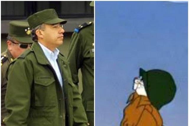 Los memes del comandante Borolas de AMLO a Calderón