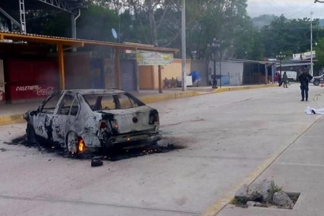 Comando embosca y mata al director de Seguridad Pública de Zitlala